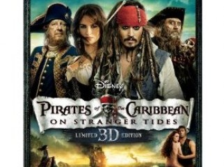 Original Bluray 3D bluray For Sell Rent