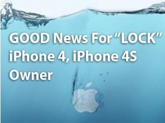 GOOD News For LOCK iPhone 4 iPhone 4S Owner