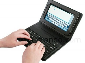 galaxy tab 7.1 and wifi keybord full new
