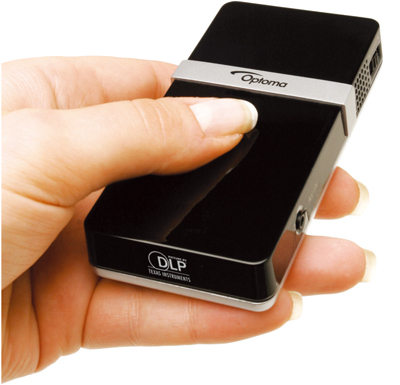 Optoma pico projector for iphone ipad ipod touch and av for Pico projector ipad