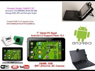 Brand New 7 Tablet PC Wonder Media
