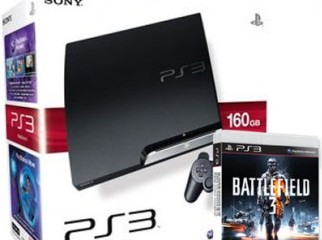 PS3 160GB with Battlefield 3 for sale