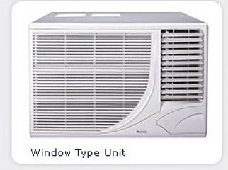 Gree 1.5 ton window air conditioner urgent sale.