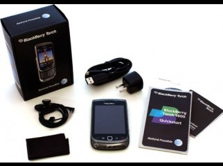 BlackBerry 9800 Torch Unlocked Phone with 5 MP Camera, Full