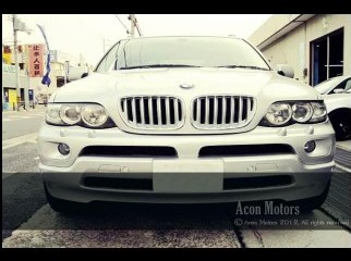 BMW x5 2006 silver 3.0i Sports Activity Vehicle 1.76 crore