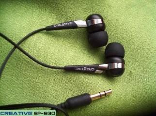 Creative EP-830 earphones