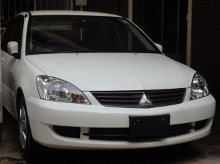 2006 Lancer GLX White - Ready at Dhaka
