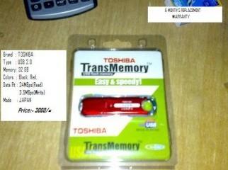 32GB TOSHIBA Pen Drive - Brand NEW - 60 OFF Tk.1500