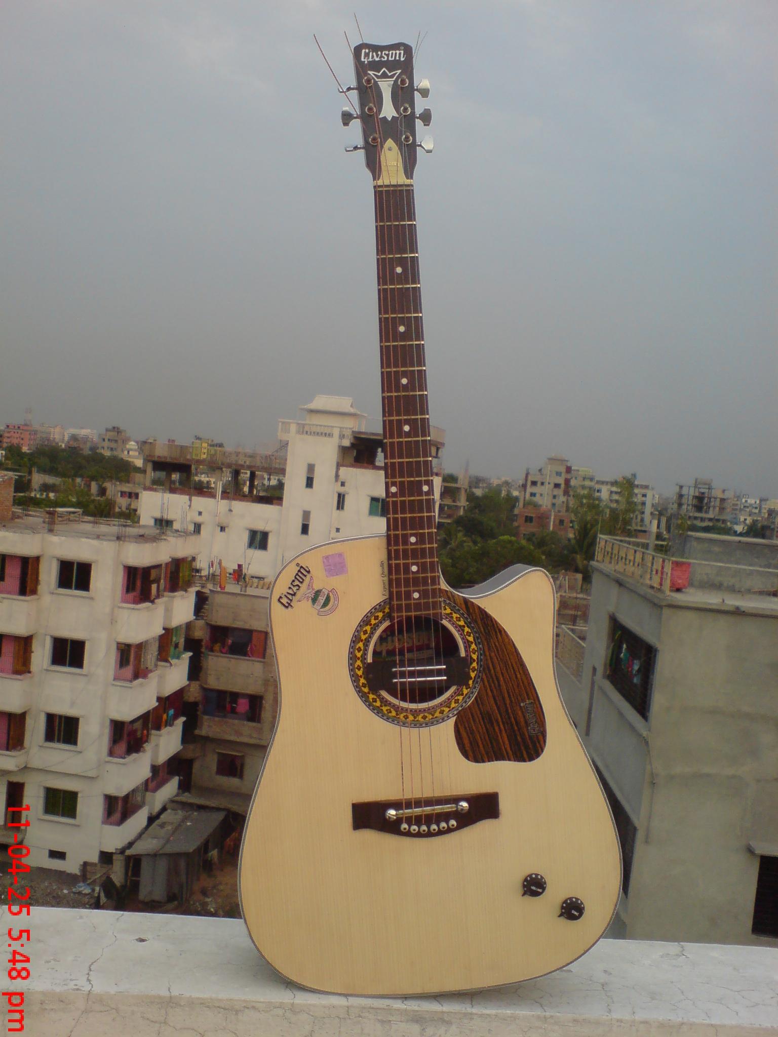 semi acoustic guitar for sale clickbd. Black Bedroom Furniture Sets. Home Design Ideas