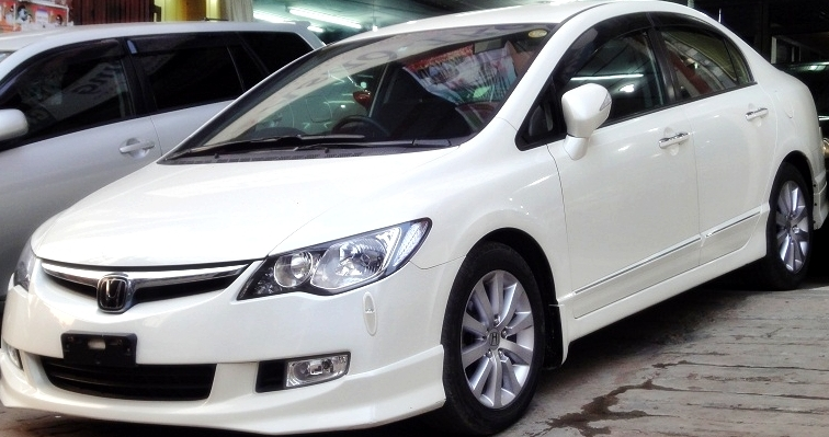 2008 HONDA CIVIC HYBRID FULLY LOADED UNIQUE   READY FOR SELL | ClickBD  Large Image 0