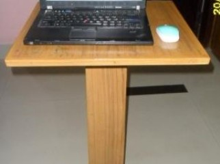 Cute Laptop wooden Table Single leg
