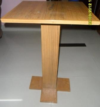 Incroyable Cute Laptop Wooden Table Single Leg | ClickBD Large Image 0