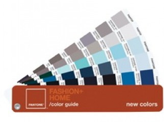 PANTONE FASHION HOME Color Guide New Colors TPX FGP110