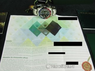 For sale Rolex GMT-Master II with Pepsi Bezel