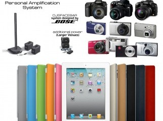 ipad 2 BOSE sound system digital cameras