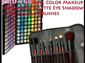 Makeup Eyeshadow Palette 7pc Make Up Brushes Kit