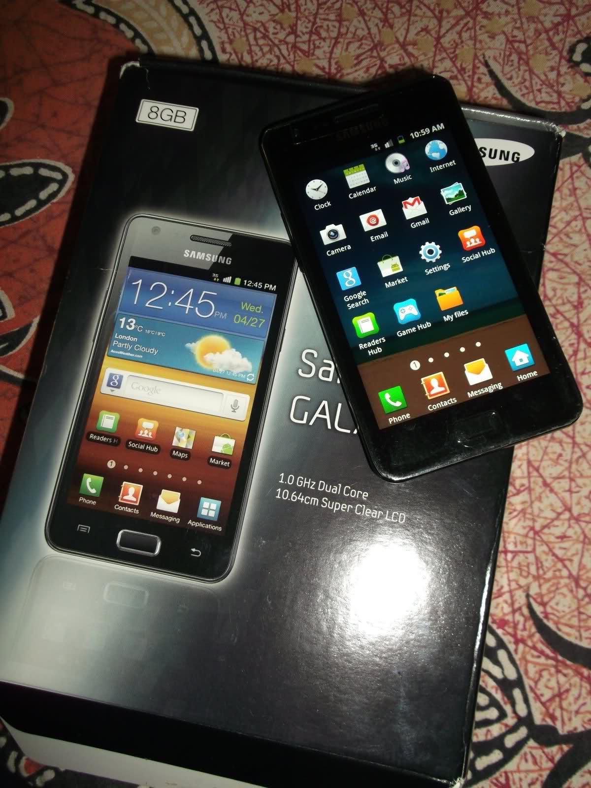Samsung Galaxy R I9103 | ClickBD
