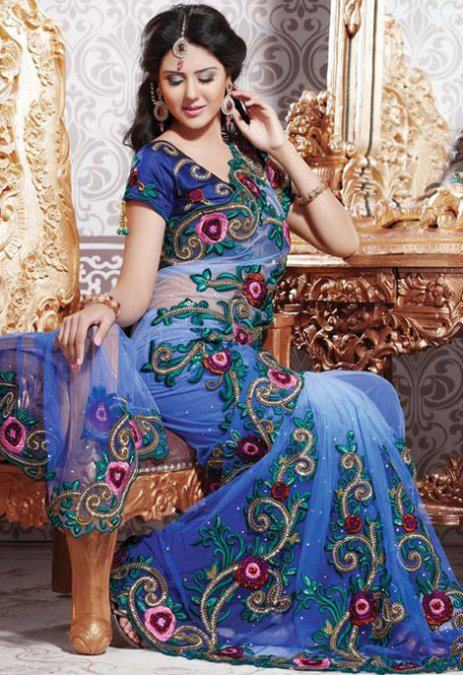 BRIDAL SAREE | ClickBD large image 0