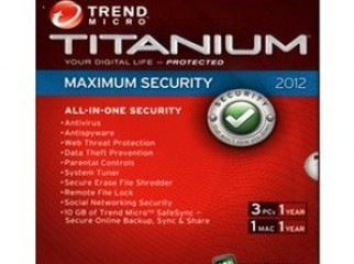 Trend Micro Titanium Maximum Security Antivirus