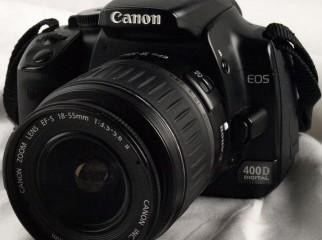 Canon 400D. Full box. Fresh condition.