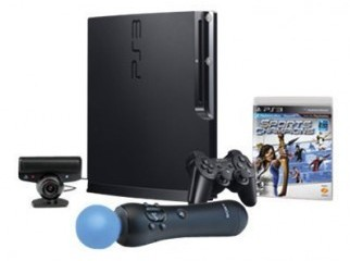 Brand new intact PS3 320 GB Move Bundle