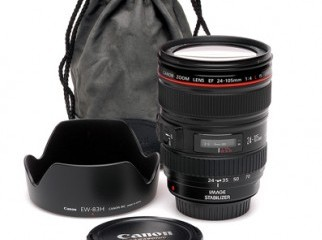 Canon 24-105mm f4 L-series USM lens