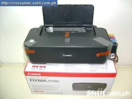 Canon Pixma iP1980 Driver Windows 10 Download Operating System