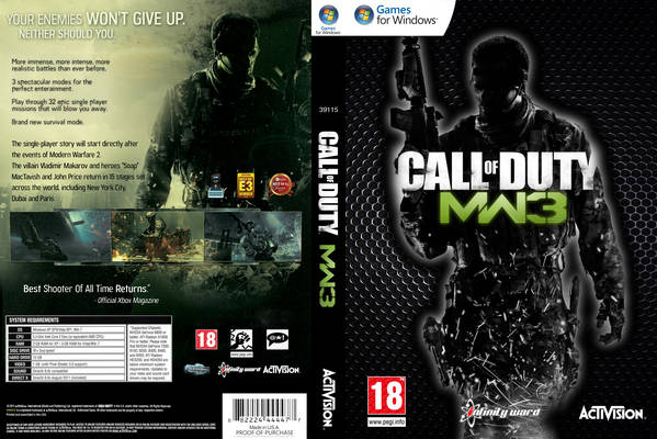 Call Of Duty MW3 intact DVD | ClickBD large image 1