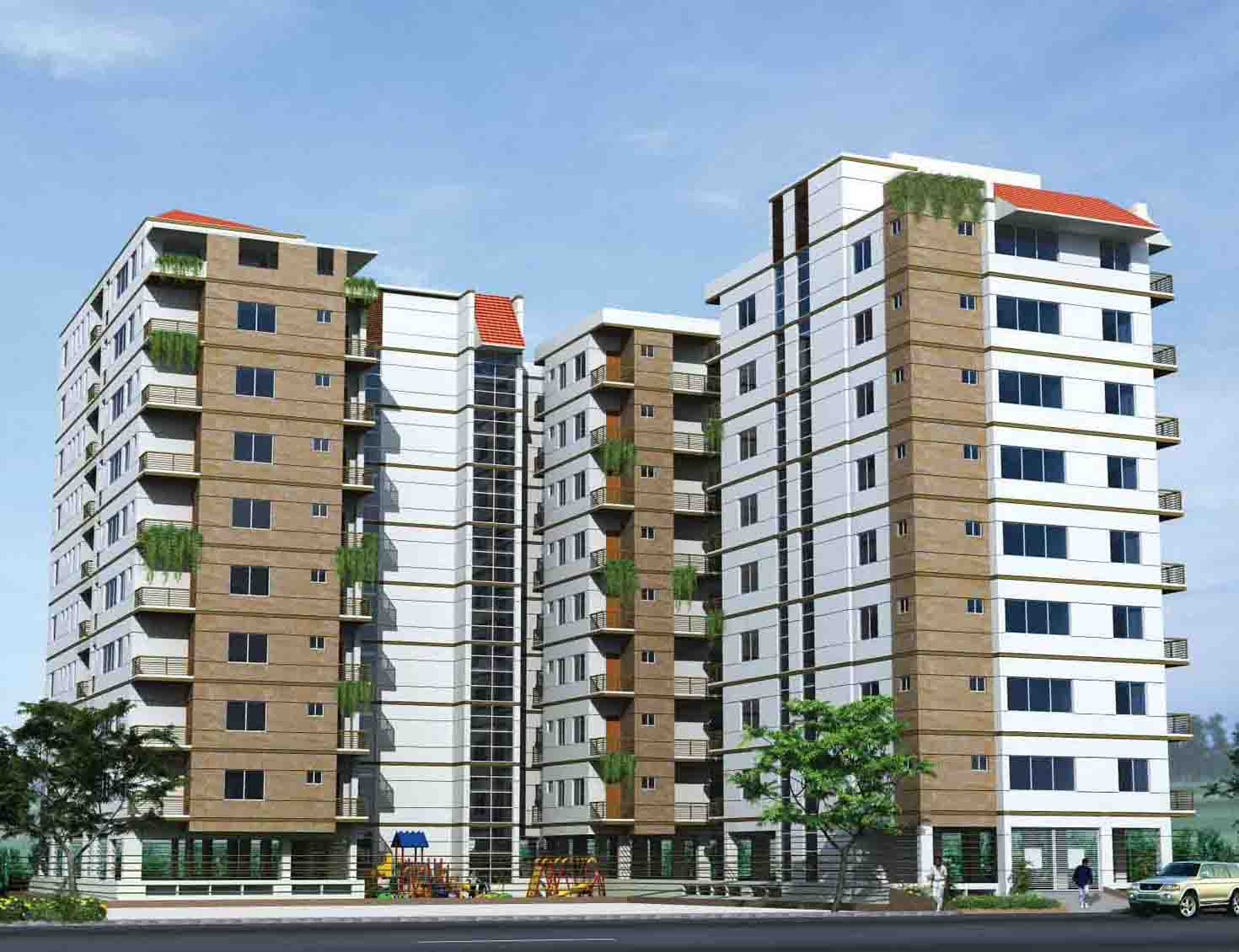 Flat apartment for sale sukrabad clickbd large image 0