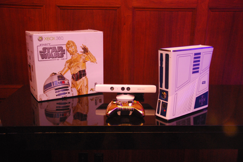 Xbox 360 320GB and Kinect Star Wars Limited Edition | ClickBD large image 1