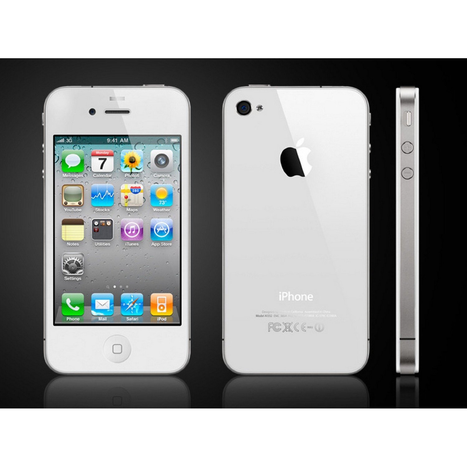 brand new iphone 4s white 16 gb boxed factory unlocked. Black Bedroom Furniture Sets. Home Design Ideas