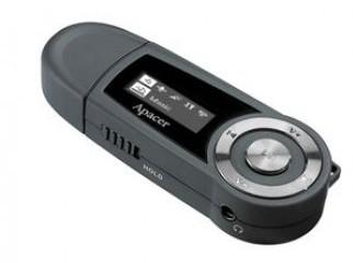 Apacer Audio Steno AU220 MP3 Player 4 GB
