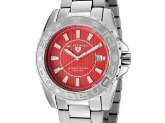 Swiss Legend Grande Sport Stainless Steel Watch