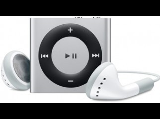iPod shuffle 2GB 4th generation Silver