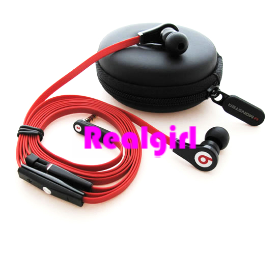 With Mic Monster Beats Tour Dr. Dre Earphone Headphone | ClickBD large image 2