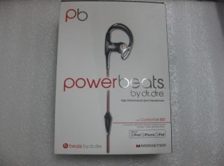 With Mic Monster Power Beats Dr. Dre Earphone Headphone