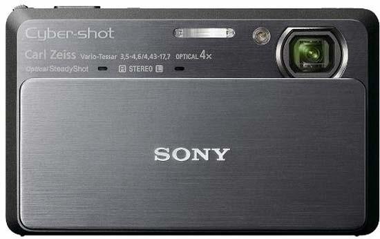 Sony Cyber-shot DSC-T99 14.1 MP Digital Camera Black | ClickBD