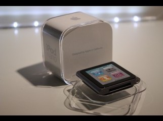iPod nano black 8gb 6th Generation..........call 01819255578