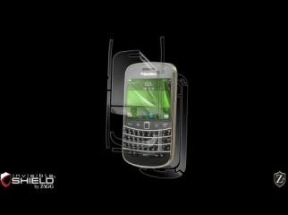 BlackBerry BOLD 9900 + OtterBox DS Case + Invisible Shield