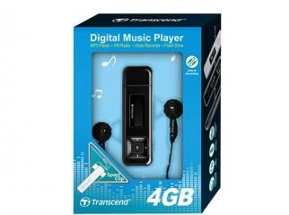 transcend_MP330 almost NEw 4GB mp3 player