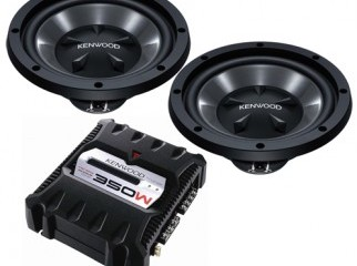 Kenwood Sub-woofer and Amplifier Car Sound System from USA