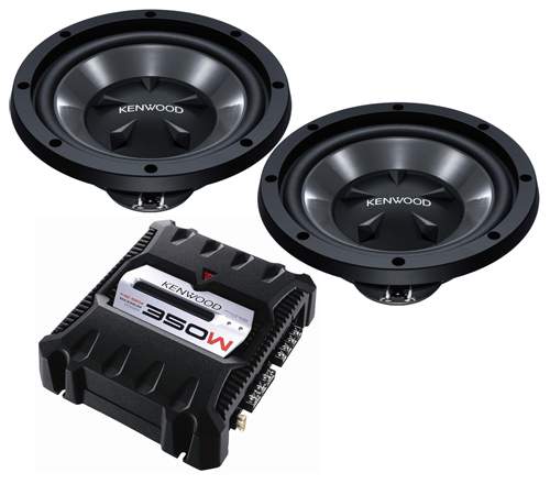 Kenwood Sub Woofer And Amplifier Car Sound System From Usa
