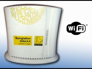 Banglalion WiMax Indoor WiFi Modem Only 3500 TK
