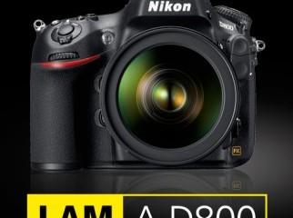 Brand new Nikon D800. 12 months warranty