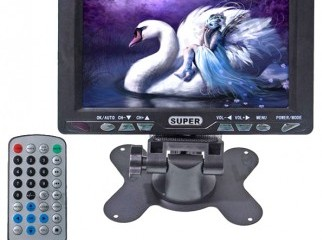 Portable 7.8 TFT LCD Color TV with Wide View Angle HD-VC78