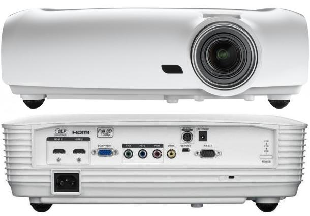 Optoma HD33 1920 x 1080 DLP projector - HD 1080p - 1800 ANSI | ClickBD large image 2