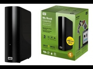 Western Digital My Book Essential 3TB USB 3.0 External Hard