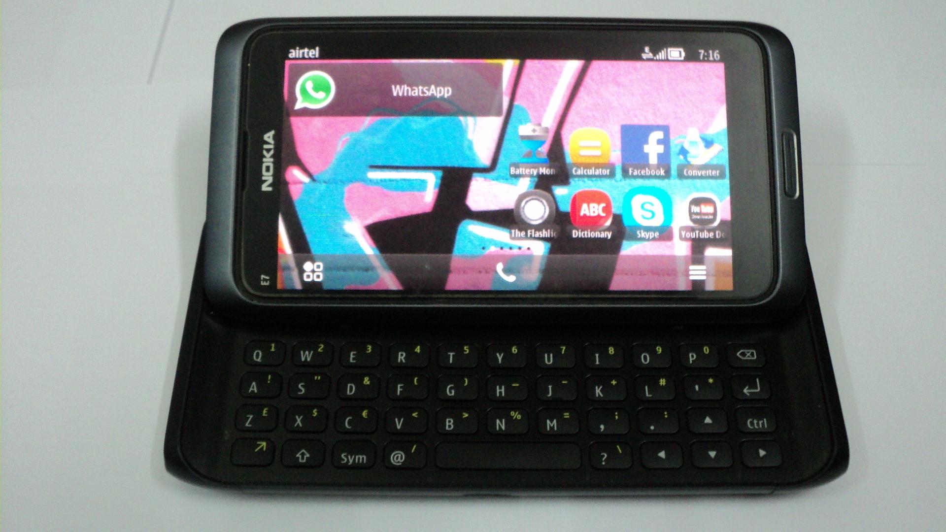 Nokia E7 symbian belly Tk. 19800 call 8801677523594
