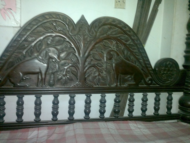 Antic Bed 100 years old  | ClickBD large image 2