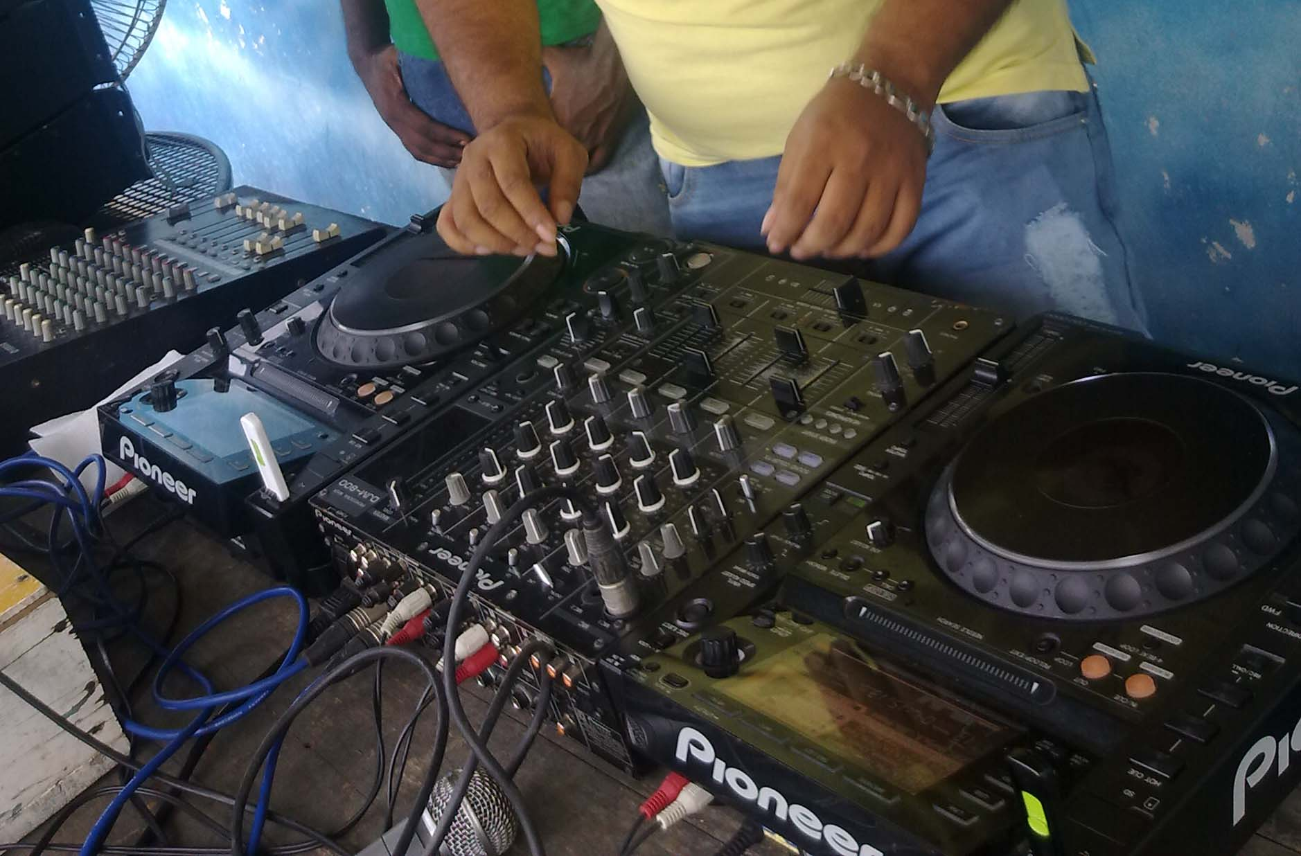 DJ party in dhaka ClickBD